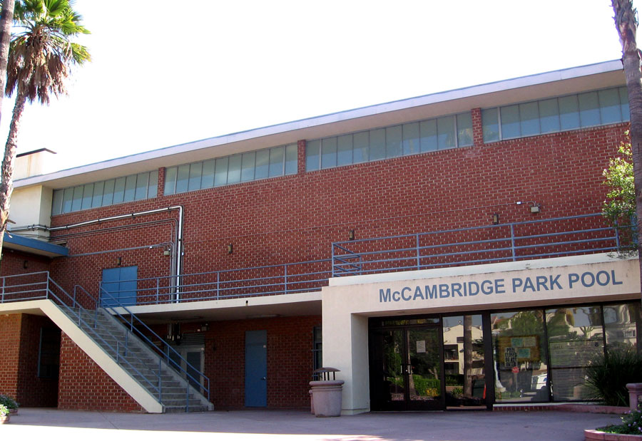 The McCambridge Recreation Center north elevation